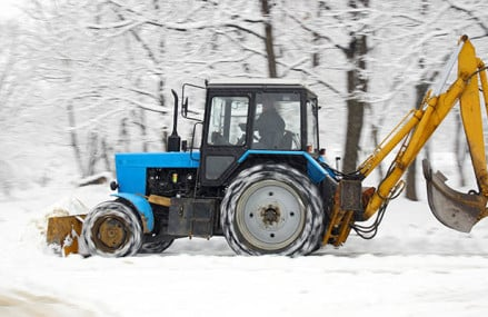 How to get the snow plow done efficiently?